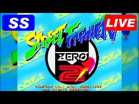 [LIVE] STREET FIGHTER ZERO2 DASH [SS/PS]