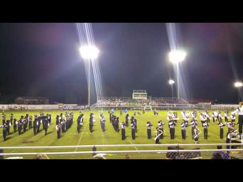 Porter Ridge High School Band Of Pirates McBee Competition 9/24/16