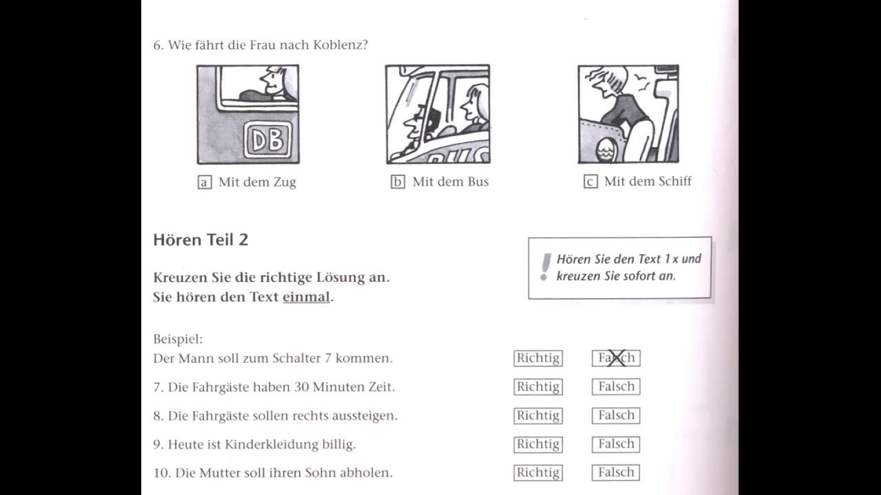 A1 online zertifikat test goethe Goethe Certificate
