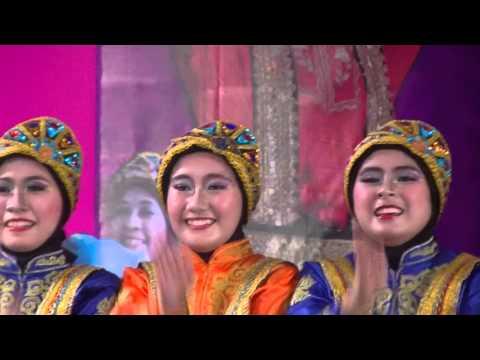 Tari Saman SMA N 9 Tangsel Sebagai Juara 1 Nasional periode 2014