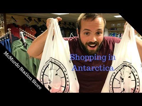 Shopping In Antarctica!
