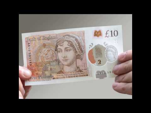 The new £10 note really celebrates the best of British culture