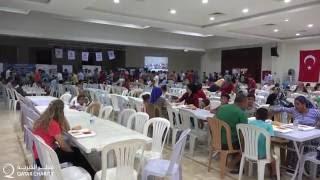 افطار جماعي للصائمين بتركيا -انطاكيا- ضمن حملة عطاؤك حياة 1437