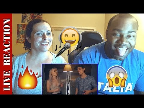 Despacito Luis Fonsi, Daddy Yankee ft Justin Bieber Madilyn Bailey & Leroy Sanchez Cover REACTION