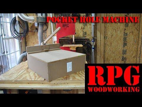 DIY Pocket Hole Machine