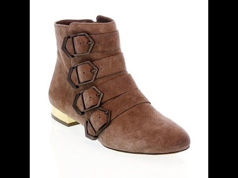 "Sam Edelman ""Nolan"" Strappy Leather Ankle Boot"
