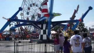 Coney Island's New Luna Park - Goodbye Astroland! HD 1080p