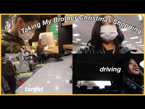 Taking My Brother CHRISTMAS Shopping! |Vlogmas Day 21!