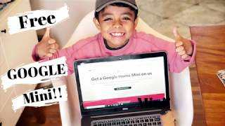 Free google home mini | Free deal by Mateo Snacks | spotify premium users