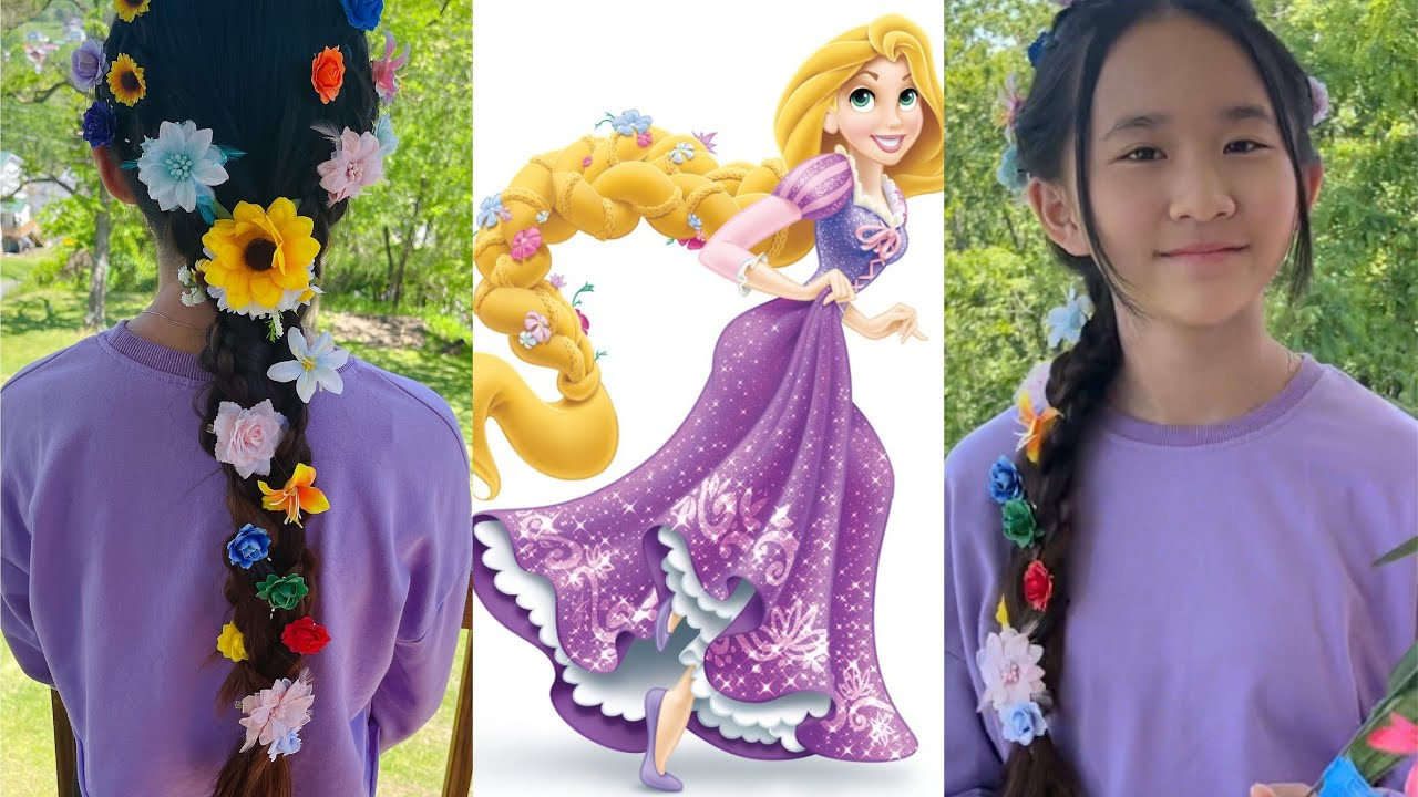 Rapunzel's Hairstyle with Kate!