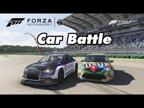 Car Battle WTCC: Toyota Avensis vs Audi S3 - Let's Play Forza Motorsport 6