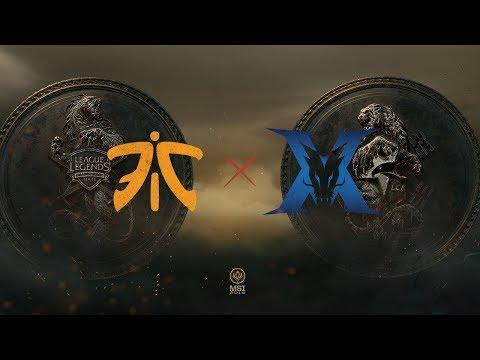 Fnatic  vs KING-ZONE DragonX vod