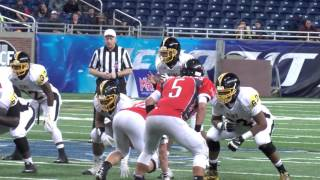 Detroit King vs. Lowell - 2015 Division 2 Football Final