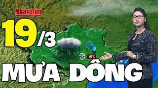 Dự báo thời tiết hôm nay và ngày mai 18/3   Cảnh báo dông lốc   Dự báo thời tiết đêm nay mới nhất