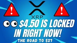 $4.50 IS LOCKED INI! - RIṖPLE XRP PRICE PREDICTION! - RIPPLE XRP 2021 - RIPPLE ANALYSIS