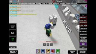 how to build own suit in build yur own mech (BYM) roblox