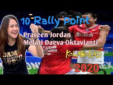 Praveen Jordan/Melati Daeva Oktavianti | 10 Rally Point Kolaborasi Terbaik 2020 | 04 Mei 2020