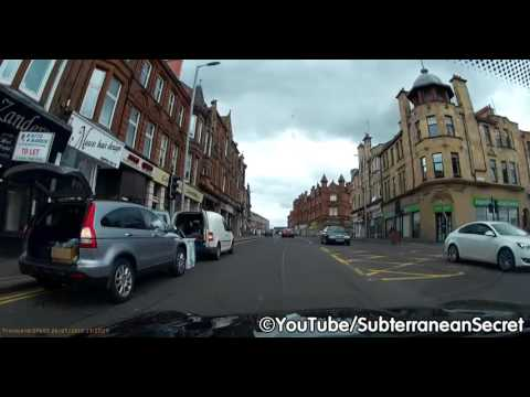 Dash Cam Footage of Hamilton, South Lanarkshire, Scotland
