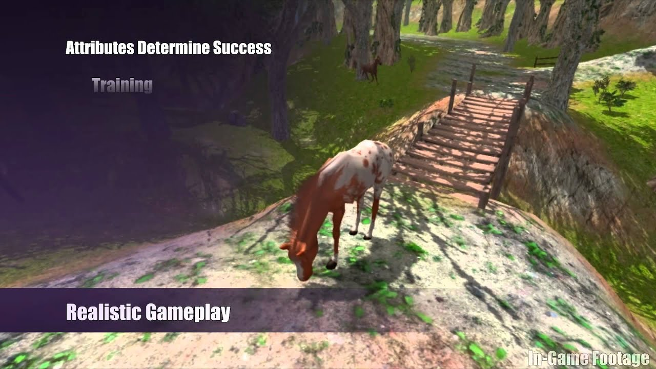 Orbis Games Virtual Horse Ranch 3d Kickstarter Video Youtube