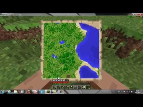 как делать компас и карту в майнкрафт