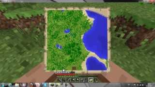 как сделать компас и карту в minecraft 1.5.1-1.5.2