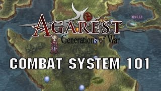 How combat works in Agarest: Generations of War