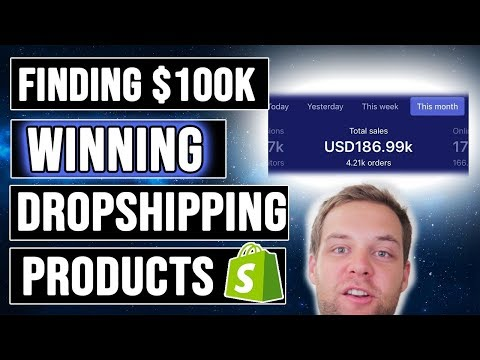 How To Find $100k Winning Products (Dropshipping) thumbnail