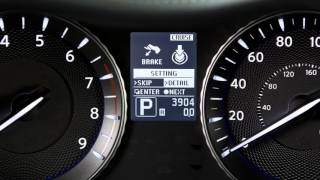 2016 Infiniti Q70 -  Vehicle Information Display