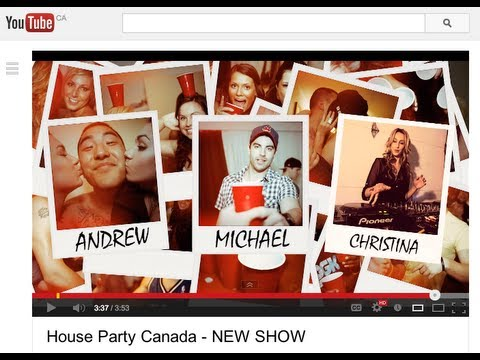 House Party Canada - NEW SHOW