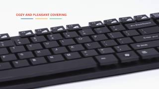 Wireless Keyboard With Slim Flying Buttons by Canyon