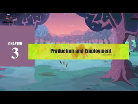 Production and Employment  | 10th class | social | eduzon.in |