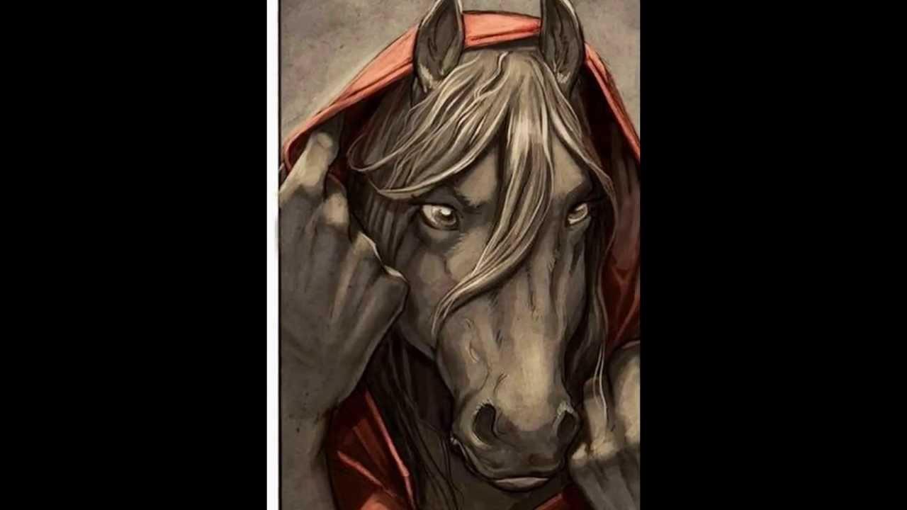Anthro horse