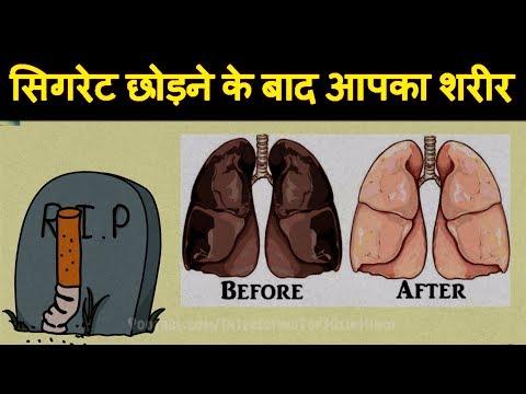 धूम्रपान छोड़ने के बाद आपके शरीर में ये होगा 