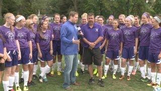 Leo Lions girls soccer named FWO Team of the Week on WANE-TV October 1, 2013.