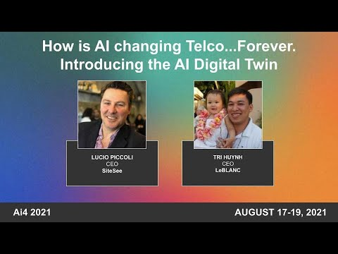 How is AI Changing Teleco... Forever. Introducing the AI Digital Twin