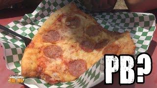 Peanutbetter - Deep Fried Pizza W/ Peanut Butter????