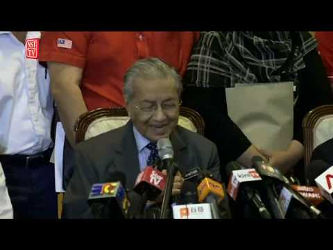 [LIVE] Tun Dr Mahathir Mohamad press conference after  Parti Pribumi Bersatu Malaysia meeting