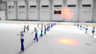 III Евразийский фестиваль массовых танцев на льду и фигурного катания, 11-12 июня 2015г.