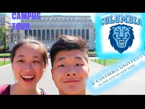 COLUMBIA CAMPUS TOUR  and FRONT ROW SEATS TO A BROADWAY SHOW