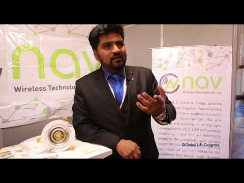 NavTech Technology at Global LiFi Congress