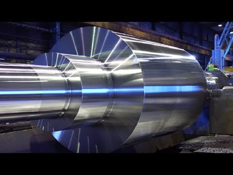 dangerous-biggest-heavy-duty-lathe-machining-working,-fastest-cnc-lathe-machine-modern-technology