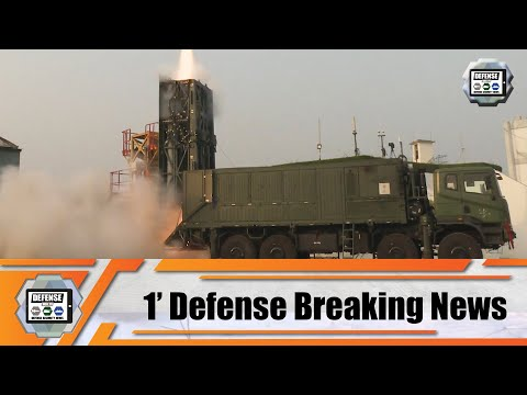 Israel And India Conduct Successfully Test-fire Of Medium-Range Surface-to-Air Missile MRSAM