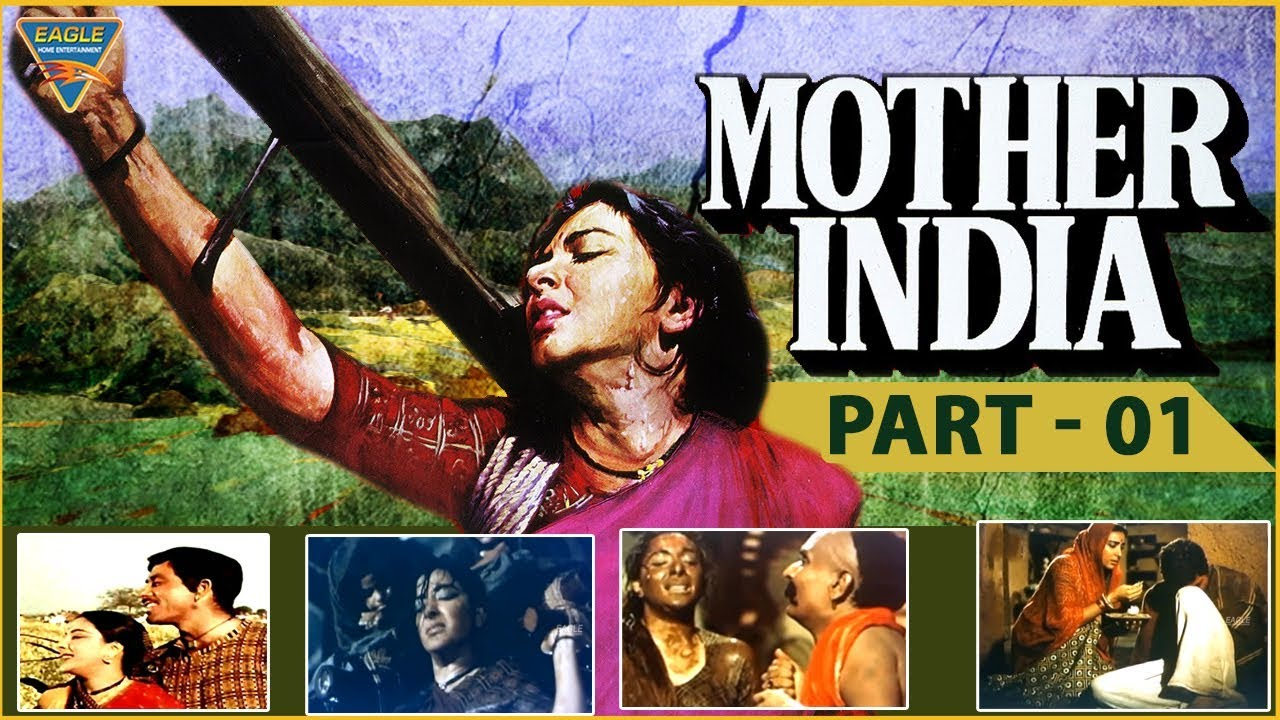 Mother India(1957) Hindi Classical Movie Part 01 || Nargis,Sunil Dutt || Eagle Hindi Movies