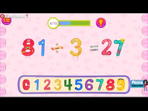 Preschool Learning Numbers #2 learn the different mathematical operations.