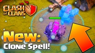 Clash of Clans ►New CLONE SPELL!