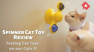 Cat Fidget Spinner (Windmill Cat Toy) Review 2020 – Funny and Cute !