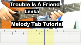 Download Mp3 Trouble Is A Friend Guitar Lesson Melody Tab Tutorial Guitar Lessons For Beginne