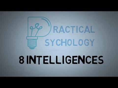8 Intelligences - Theory of Multiple Intelligences Explained - Dr. Howard Gardner