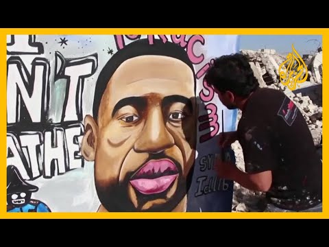 إدلب.. فنان سوري يتضامن مع جورج فلويد  - نشر قبل 8 ساعة