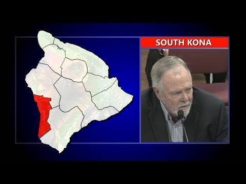 SOUTH KONA: Creagan Testifies On Kona Hospital Bill (Feb. 20, 2018)
